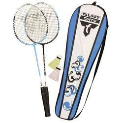Zestaw badminton Talbot Attacker 2 rakietki + 2 lotki