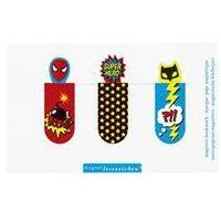 Pozostałe artykuły papiernicze, Zakładki Magnetyczne Superbohaterowie Zestaw 3 sztuki - Cass Film