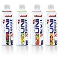Minerały NUTREND Unisport Zero 1000 ml, Smaki: Cytryna Najlepszy produkt Najlepszy produkt tylko u nas!