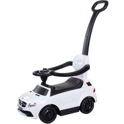 Sun Baby Jeździk Mercedes-Benz Gle 63 Amg Z Popychaczem Biały Odbierz swój rabat dzisiaj!!!