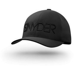 Czapka golfowa SNYDER Delta Black L/XL, YUPOONG, FLEXFIT