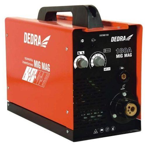 Spawarki inwertorowe, Spawarka inwentorowa mini DEDRA DESMi180 IGBT MIG/MAG 180A + DARMOWA DOSTAWA! promocja (--14%)