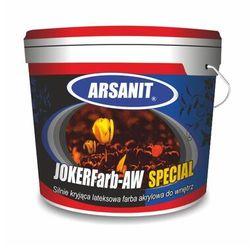 Farba akrylowa lateksowa wewnętrzna ARSANIT JOKERFarb–AW SPECIAL biała 5L