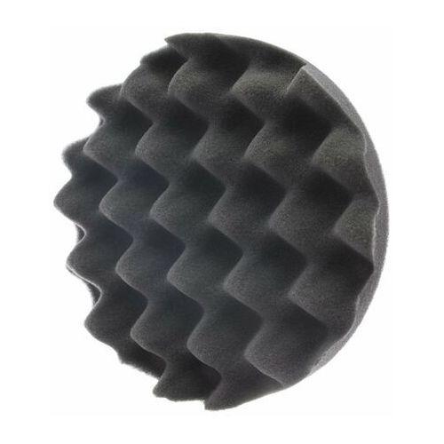 Gąbki samochodowe, RRC Wave 150mm czarna miękka gąbka polerska