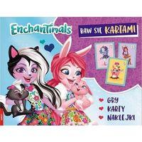 Książki dla dzieci, Enchantimals Baw się kartami - Praca zbiorowa (opr. broszurowa)