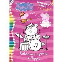 Książki dla dzieci, Malowanka. kolorowe rytmy z peppą 21x29 cm (opr. broszurowa)