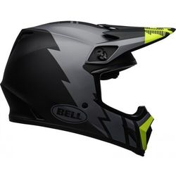 BELL KASK OFF-ROAD MX-9 STRIKE MATT GREY/BL/HI VIZ