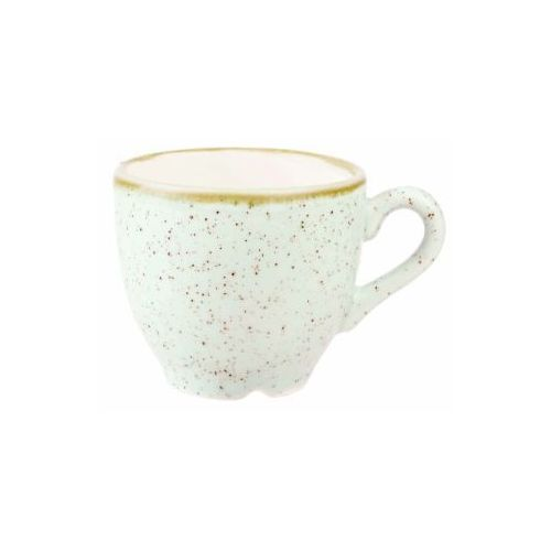 Filiżanki, Filiżanka espresso 0,1 l, biała | CHURCHILL, Stonecast Barley White