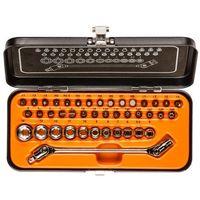 Zestawy narzędzi ręcznych, Zestaw kluczy nasadowych NEO 1/4 cala 08-603 (41 elementy) + Zamów z DOSTAWĄ JUTRO!