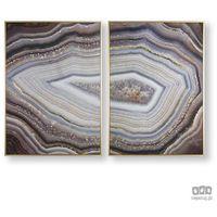 Obrazy, Obraz 2-częściowy w ramie Glamorous Gems 105885 Graham&Brown