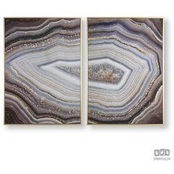 Obraz 2-częściowy w ramie Glamorous Gems 105885 Graham&Brown