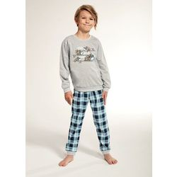 Wygodna piżama chłopięca Cornette 966/98 Young Koala dł/r 134-164