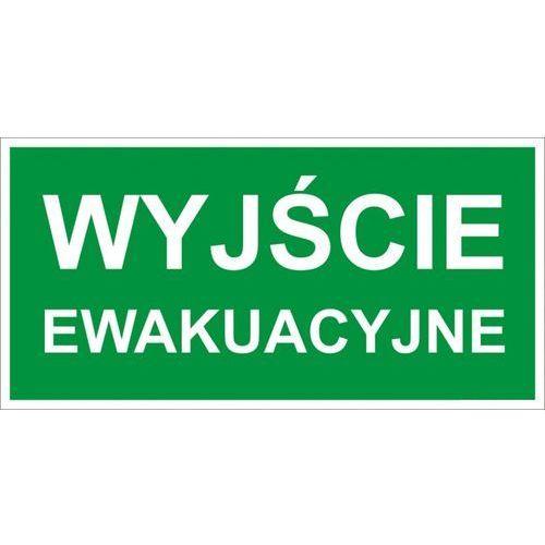 Oznakowanie informacyjne i ostrzegawcze, Znak Wyjście ewakuacyjne