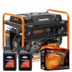 Agregat prądotwórczy DAEWOO GDA 7500E 6,5kW AVR 15KM