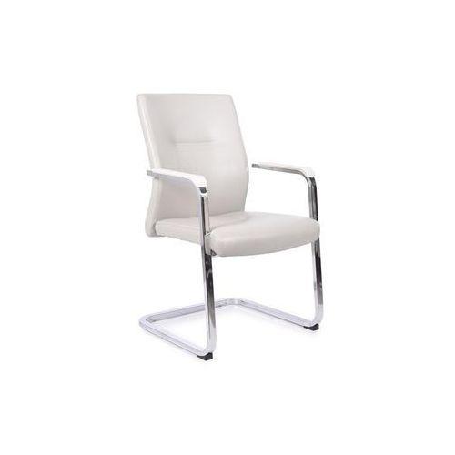 Fotele i krzesła biurowe, Krzesło konferencyjne VISITOR szary