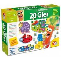 Puzzle, LISCIANIGIOCHI Karotka Z est.20 gier