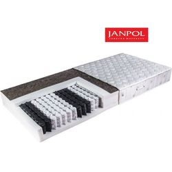 JANPOL ARIADNA - materac kieszeniowy, sprężynowy, Rozmiar - 160x200, Pokrowiec - Jersey Standard WYPRZEDAŻ, WYSYŁKA GRATIS