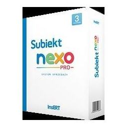 InsERT Subiekt NEXO PRO box 3 stanowiska SNP3