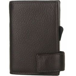 SecWal SecWal 2 Kreditkartenetui Geldbörse RFID Leder 9 cm dunkelbraun ZAPISZ SIĘ DO NASZEGO NEWSLETTERA, A OTRZYMASZ VOUCHER Z 15% ZNIŻKĄ