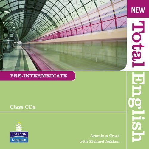 Książki do nauki języka, New Total English Pre-Intermediate Zestaw Płyt Audio CD do Podręcznika