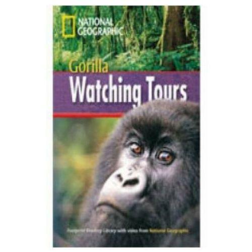 Książki do nauki języka, Gorilla Watching Tours + Book with Multi-ROM (opr. miękka)
