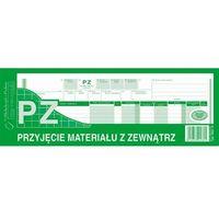 Druki akcydensowe, Przyjęcie materiałów z zewnątrz PZ Michalczyk&Prokop 362-0 - 1/2 A4 (wielokopia)