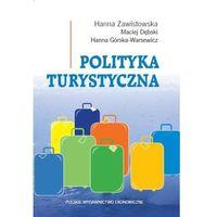 Książki o biznesie i ekonomii, Polityka turystyczna (opr. kartonowa)