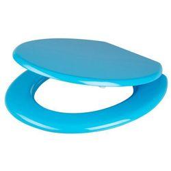 Deska WC MDF niebieska