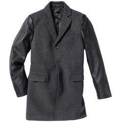 Krótki płaszcz Regular Fit bonprix antracytowy melanż