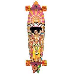 longboard DUSTERS - Hendrix Axis Bold Longboard Orange/Pink (ORANGE PINK)