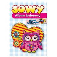 Albumy, Album kolorowy - Sowy Praca zbiorowa (opr. broszurowa)