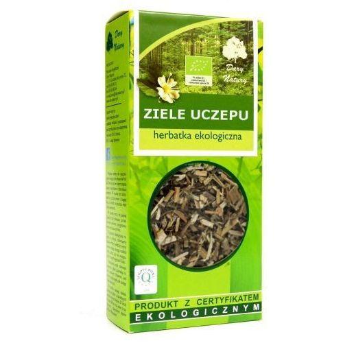 Herbaty ziołowe, HERBATKA ZIELE UCZEPU BIO 50 g - DARY NATURY