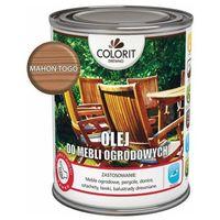 Podkłady i grunty, Olej do mebli ogrodowych Colorit Drewno mahoń togo 0,75 l