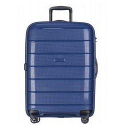 PUCCINI walizka średnia twarda z kolekcji MADAGASCAR MADAGASKAR PP013 4 koła zamek szyfrowy TSA materiał polipropylen