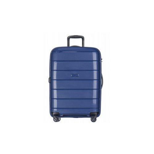 Torby i walizki, PUCCINI walizka średnia twarda z kolekcji MADAGASCAR MADAGASKAR PP013 4 koła zamek szyfrowy TSA materiał polipropylen