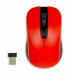 Myszka bezprzewodowa iBOX Loriini Red optyczna czerwona