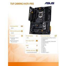 Asus Płyta główna TUF GAMING H470-PRO s12 00 4DDR4 DP/HDMI M.2 ATX