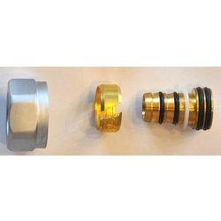 Złączka zaciskowa do rury z tworzywa sztucznego PEX GW M22x1,5 - 16x2 Schlosser 6026 00003.02 Satyna