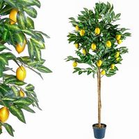 Sztuczne kwiaty, Drzewko sztuczne owocowe cytrynowe 184 cm