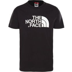 The North Face Easy Bluzka z krótkim rękawem Chłopcy, czarny/biały XL   170-175 2021 Koszulki z krótkim rękawem