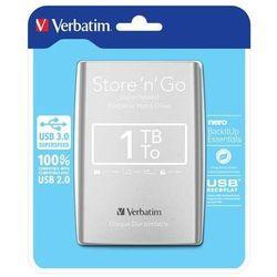 Verbatim Store'n'Go 1TB USB 3.0 (srebrny) - produkt w magazynie - szybka wysyłka!