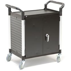 Wózek narzędziowy MOVE z szafką, 880x490x950 mm