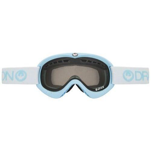 Kaski i gogle, gogle snowboardowe DRAGON - Dxs Frost (Smoke + Yellow) (617)