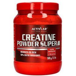 ACTIVLAB Creatine Powder 500 - Blackcurrant Najlepszy produkt tylko u nas!