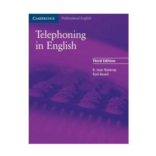 Książki do nauki języka, Telephoning In English Podręcznik (opr. miękka)