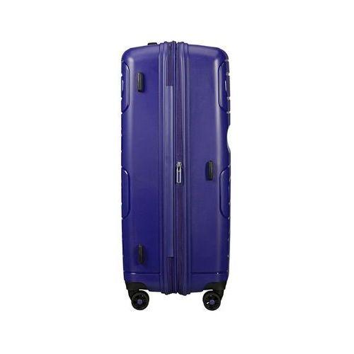 Torby i walizki, American Tourister Sunside duża poszerzana walizka 77 cm / granatowa - Navy ZAPISZ SIĘ DO NASZEGO NEWSLETTERA, A OTRZYMASZ VOUCHER Z 15% ZNIŻKĄ
