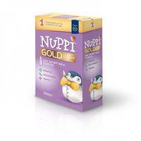 Mleka modyfikowane, Nuppi® GOLD 1 Mleko początkowe w proszku z niezbędnymi składnikami odżywczymi dla niemowląt od urodzenia do 6 miesiąca życia.