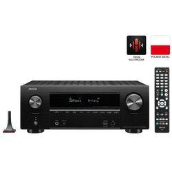 DENON AVR-X2500H - amplituner kina domowego Dolby Atmos | sterowanie głosowe Amazon Alexa | Raty 0% | Gwarancja 3-lata