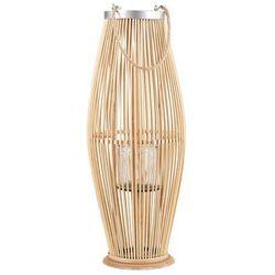Lampion jasne drewno 84 cm TAHITI