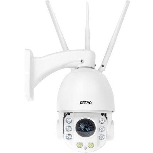 Kamery przemysłowe, Kamera GSM LV-IP26PTZ-4 obrotowa PTZ KEEYO IP FullHD bezprzewodowa 2MPx IR 100m